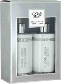 White Crystals Cremeseife & Handlotion (2 x 250ml)