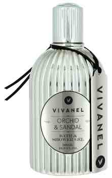 VIVANEL  Bath & Shower Gel -  Orchid & Sandal (500 ml) - vegan