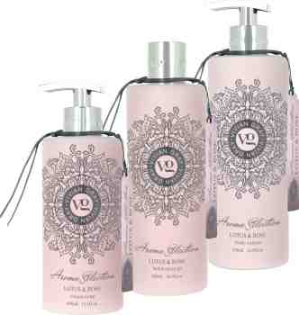 """Dreier Set"" VIVIAN GRAY Aroma Selection Lotus & Rose (vegan)"
