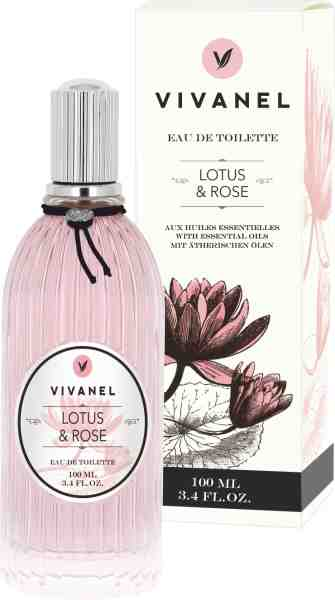 "VIVANEL ""Eau de Toilette""  Lotus & Rose  (100 ml)"